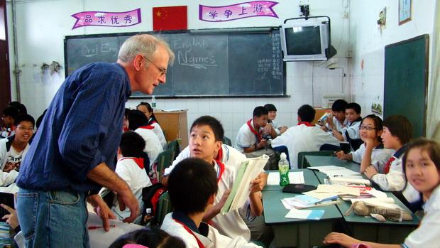 john在初中英语口语教学课堂上